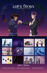 Leif and Thorn Calendar Vol. 1: At Your Side by ErinPtah