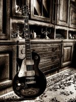 Epiphone les paul standard by TheDeadStare