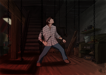 SPN - Sam's Hell by Renny08