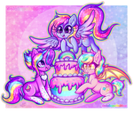 GA: Glittery Happy Birthday by Dolcisprinkles