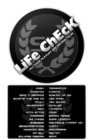 Life Check Roster by Smyf
