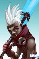 Ekko (with color) by LiamYap