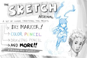 The Sketch Arsenal by thatLD