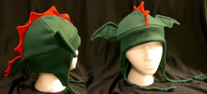 Dragon Hat by kittyhats