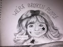 Twenty One Pilots (We're Broken People)  by caitlyniscrazy1