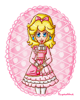 pink peach by ninpeachlover