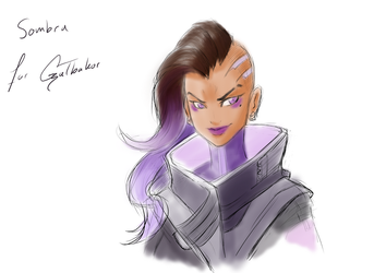 Appreciation Day: Sombra for Galbakor by ARHDian