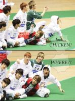 ONEW CHICKEN by pen-point