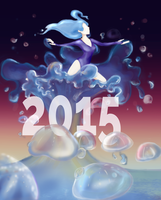 2015 Happy New Year! by Maybellez