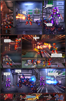 MMX:U49 - S1Ch17: Chain Vengefulness (Page 7) by IrregularSaturn