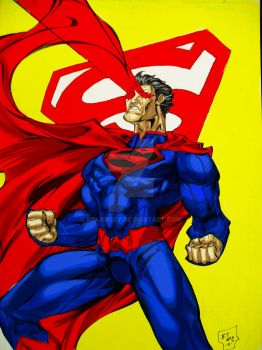 Superman New 52 by kidjersey