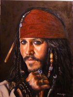 Jack Sparrow by DanBurgessTheArtist