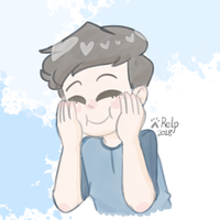 Squishy Blueberry Boy REDRAW II CrankGameplays by Puppyrelp