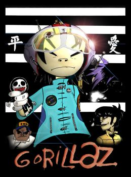Gorillaz by Jamesleon