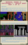 Graphical Design in Castlevania 2 - Part 7 of 10 by Cyangmou