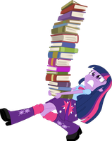 Vector - Hit the Books by SketchMCreations