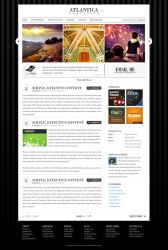Atlantica Template Wordpress by escapepodone