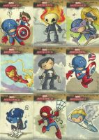 Marvel Masterpieces 2 pt.2 by katiecandraw