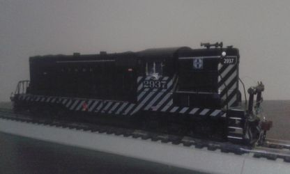 ATSF Shunter 2937 by spencerbt123
