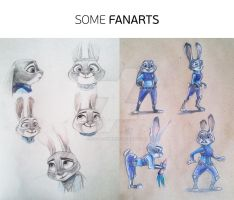 Some fanarts by dadre-amber