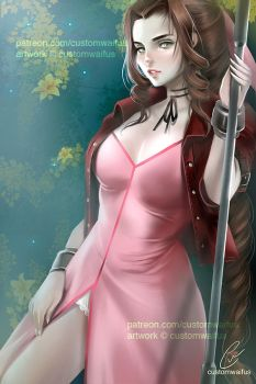 +NSFW FFVII: Level1 Aerith (FREE TO USE) by customwaifus