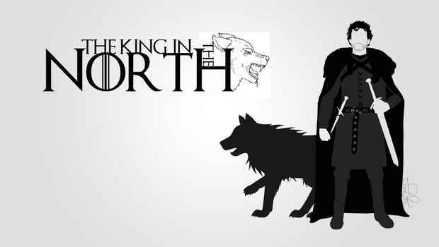 The King In North Wallpaper By Simon93 ITA On DeviantArt