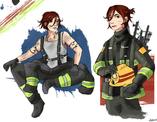 Fire Fighter Eito by TokieMelodies
