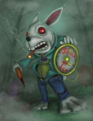 Bad bunny by Twistedpr3lude