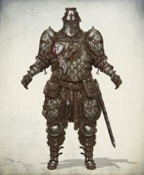 Lamellar heavy knight by Gottsnake