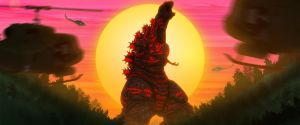 Golden Horizon - Shin Godzilla by Awesomeness360