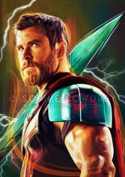 God of Thunder by sophiecowdrey