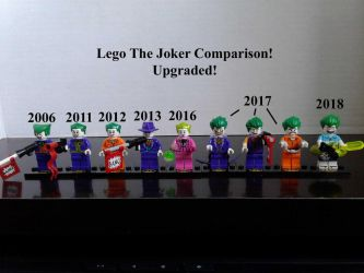 Lego The Joker Comparison Upgraded! by lol20
