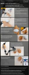 Gemstones with Resin : Amira Necklace by Lumis-Mirage