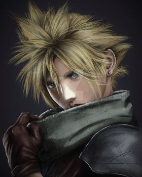 COULD STRIFE - FINAL FANTASY VII CRISIS CORE