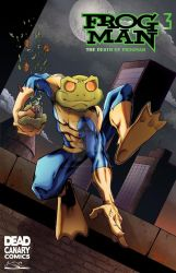 Frogman pin-up by GibsonQuarter27
