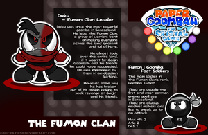 Paper Goombah: TCC - The Fumon Clan by BKcrazies0