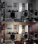 Barber Shop (Photo restoration) by Rowye