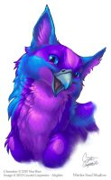 Purp Gryph by soulofwinter