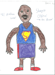 Shaquille O'Neal by Louie82Y