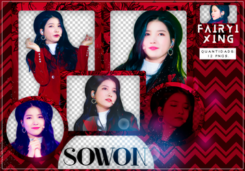 [PNG PACK #777] Sowon - GFriend (171216) by fairyixing
