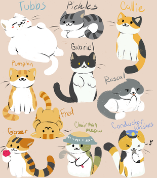Neko Atsume 2 by Fire-Girl872