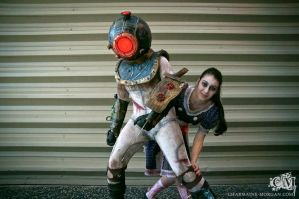 Back off - Bioshock 2 by Lily-pily