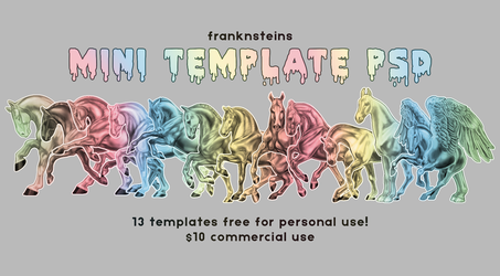 Free to Use: Mini Templates! by franknsteins