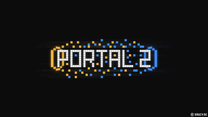 Portal 2 - Pixel Wallpaper by NinjaSaus