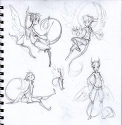 Sketches - Tak by sambees