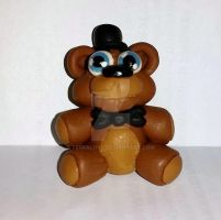 Freddy Fazbear plushy miniature by TerraLove