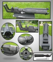 Black Rock Shooter Arm Cannon by fixinman