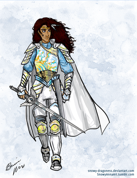 PaladinArmor by Snowy-Dragoness