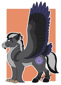 Neuro the Hippogriff by Voltage-Art