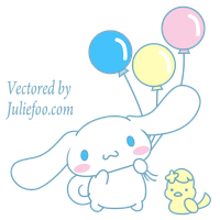Cinnamoroll Vector Comission Sanrio by JuliefooDesigns